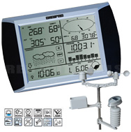 Omnipad PRO R3 Professional Digital Wireless Weather Stations/Instruments/Equipment/ Portable Rain Gauges