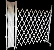 Omnipro II Collapsible/Expandable/Expanding/Folding Crowd Steel Warehouse Trellis/Barrier Gate/Fence